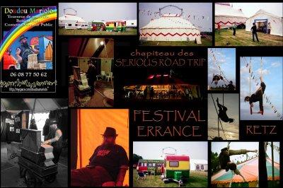 """Doudou Mariolo au """"Festival Errance de Cirque  """" pays de Retz 44"""