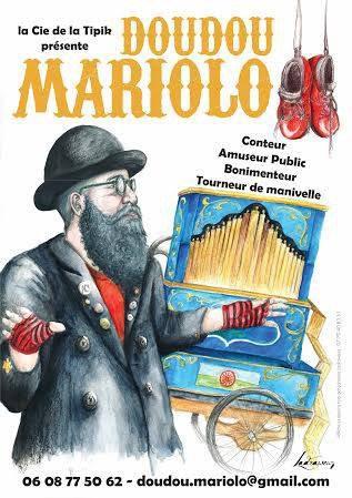 """affiche  2015 """" doudou mariolo """""""