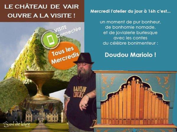 Doudou et la cie de la Tipik au château de Vair !