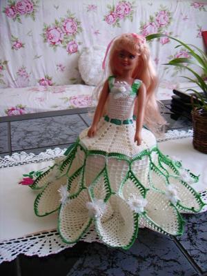 Mes robes de poupées en crochets