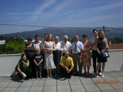 La famille présente à la mairie!!!