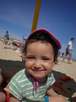 Journée à la plage de l'algarve!!!Avec ma tite puce...