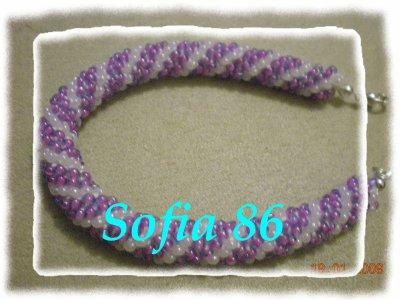 Un bracelet spirale!!!