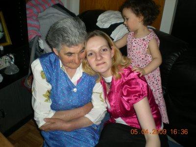 Ma mamie Ana et moi
