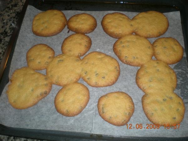 Voilà enfin les biscuits de ma puce!!!