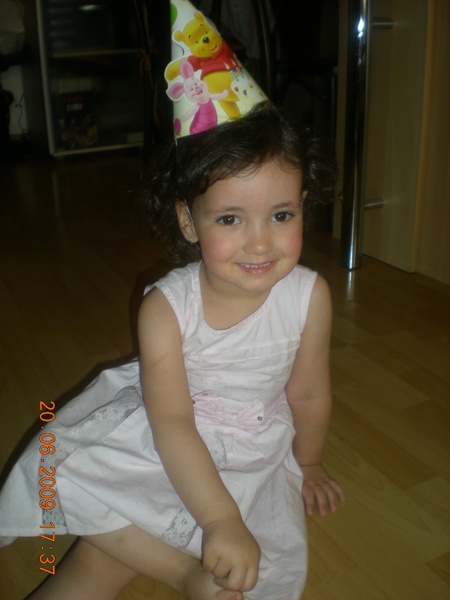 Ana à son anniversaire!!!