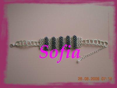 Mon bracelet que j'ai créer!!!