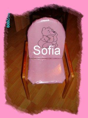Chaise haute customisée à ma façon!!! lol