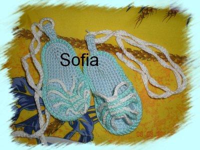 Sandalettes pour bébé
