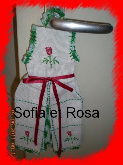 Petite robe avec roses