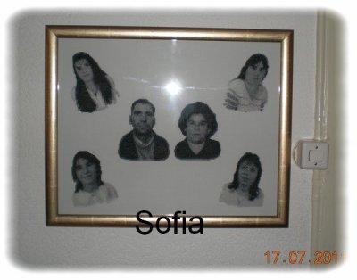 6 minis portraits encadrer