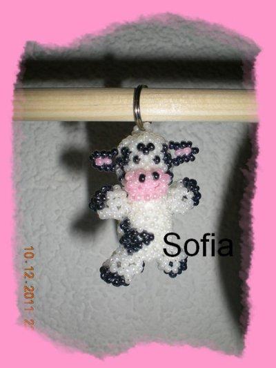 Porte clef vache