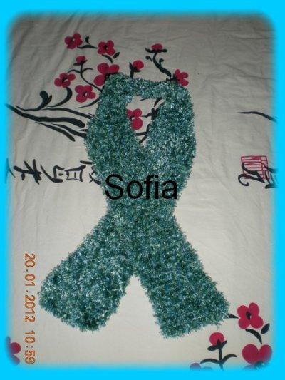 Une écharpe toute douce