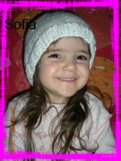 Un petit bonnet pour ma petite Lucie
