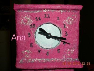 Horloge à pendule suite