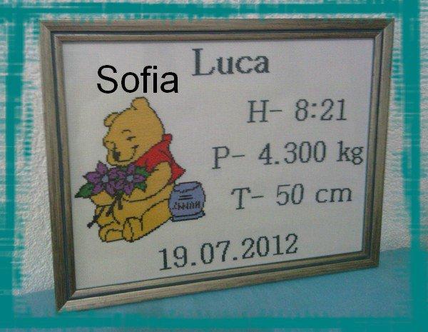Cadre naissance Winnie