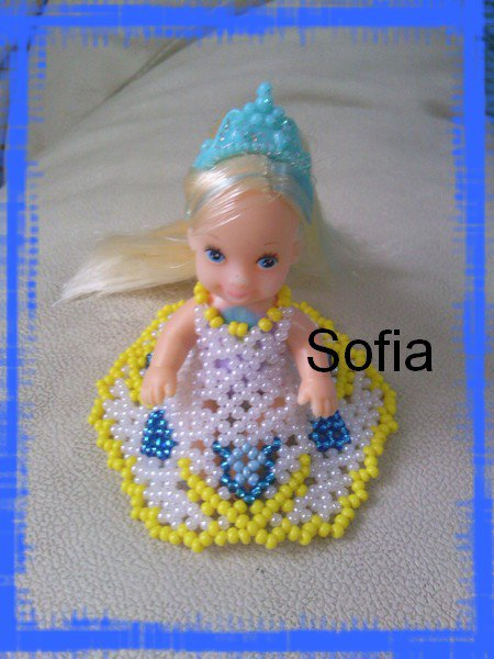 Une nouvelle poupée 5 cm