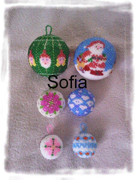 6 nouvelles boules