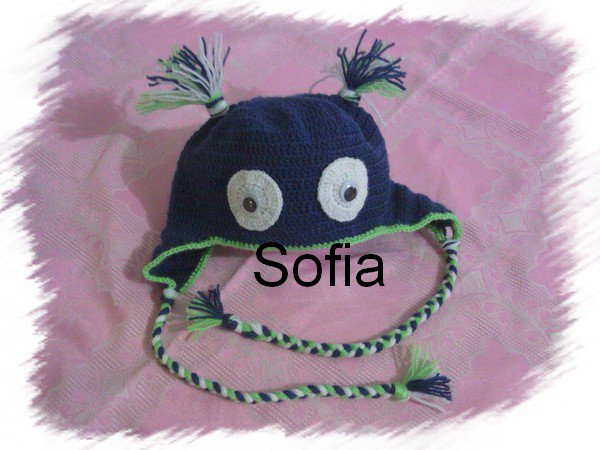 Bonnet Yeuté!!! lol et bonnet naissance...