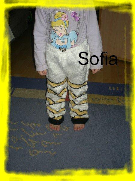 Bonnet et pantalons Winnie
