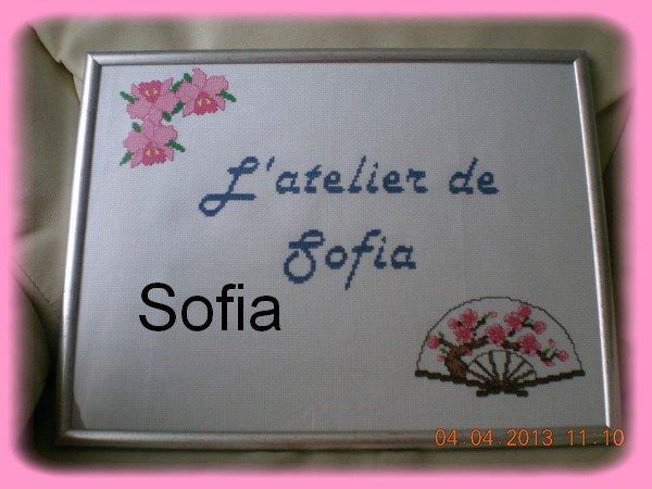 L'atelier de Sofia...