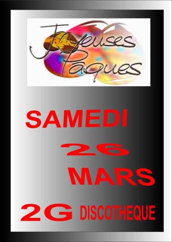 SAMEDI 26 MARS
