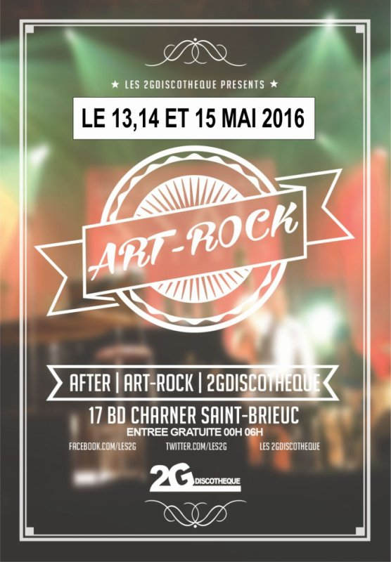 AFTER APRES LES ART ROCK.....