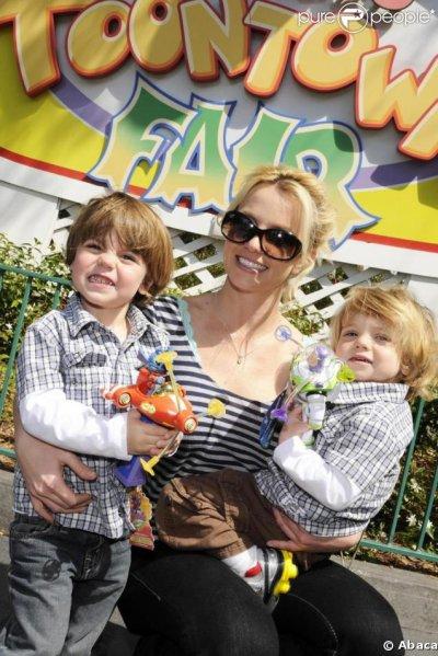 Britney Spears et ses fils ! ! !