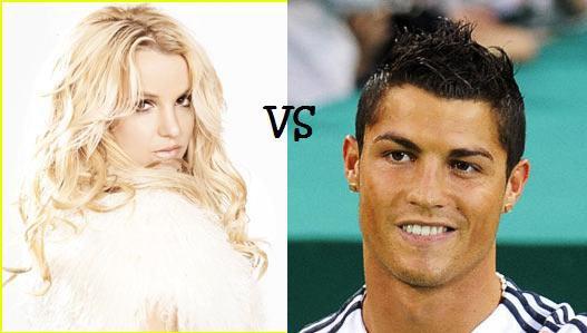 Britney Spears VS Cristiano Ronaldo