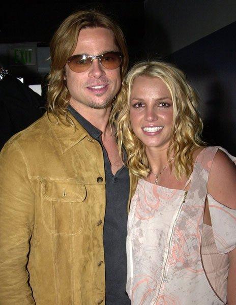 Britney Spears et Brad Pitt