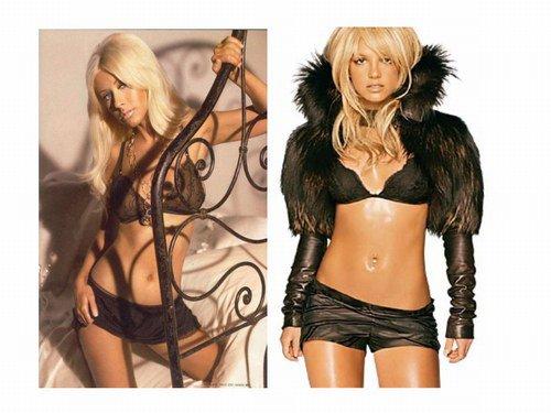 Encore une photo de Britney Spears et Christina Aguilera