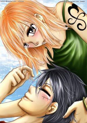 Luffy ♥ Nami (partie 4)