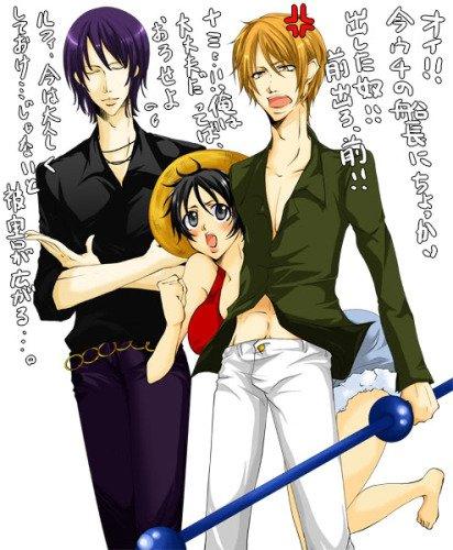 Luffy ♥ Nami V.2