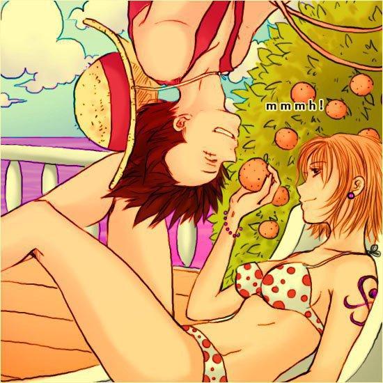 Luffy ♥ Nami - Encore !