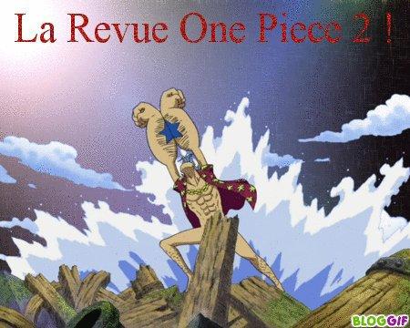 LA REVUE ONE PIECE T.2