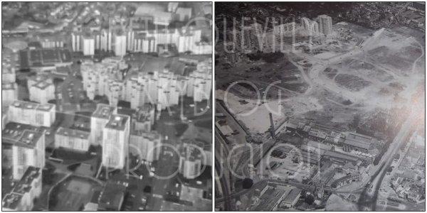 Construction et évolution des différents quartiers de la ville