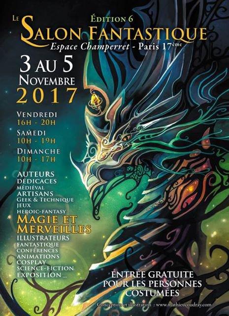 Salon fantastique de Paris 2017 - Espace Champerret