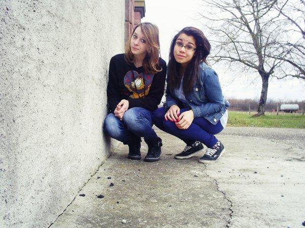 Une meilleure amie qui vaut bien plus que de l'or ! ♥♥