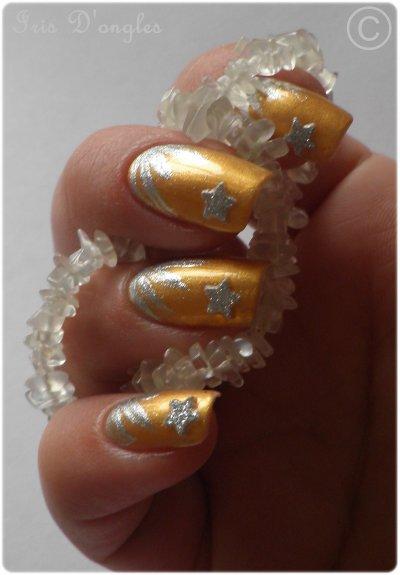 "Nail Art ""Précieux Contrastes"" 2 ."