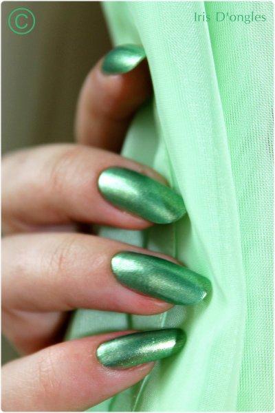 TEST: Vernis vert N°L-66 de chez MODÉLITE