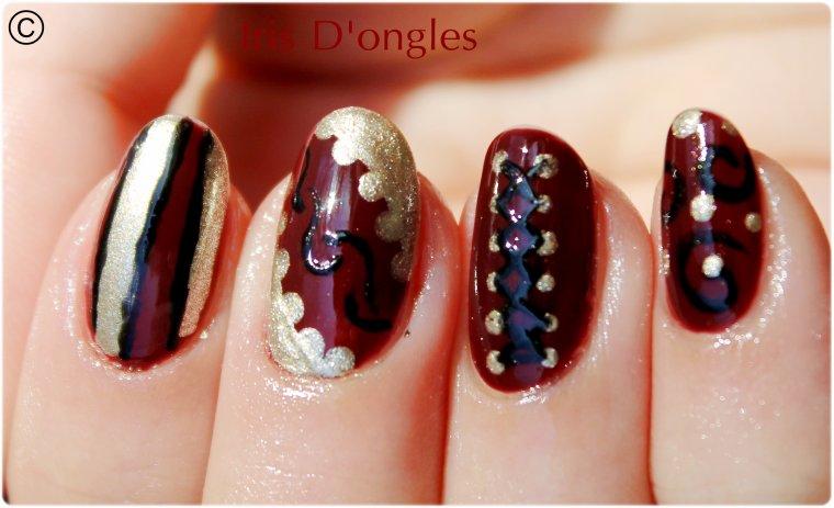 Essais nail-artesques... :D