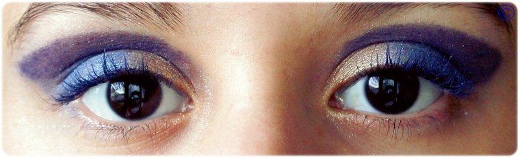 """Maquillage du jour: """"Marina dorée"""" ."""