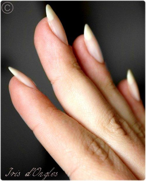 Mes ongles, 5mm, après trois semaines sans vernis!