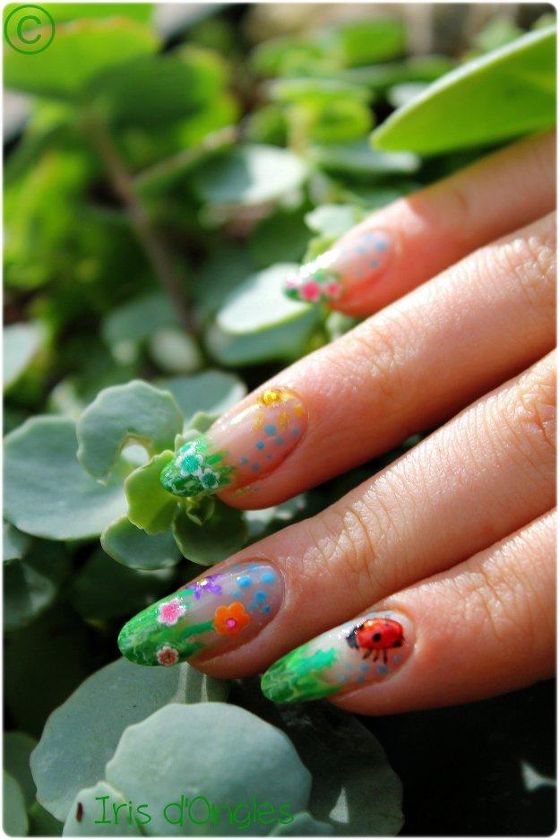 """Nail Art Concours """"La Nature au Printemps"""" !"""