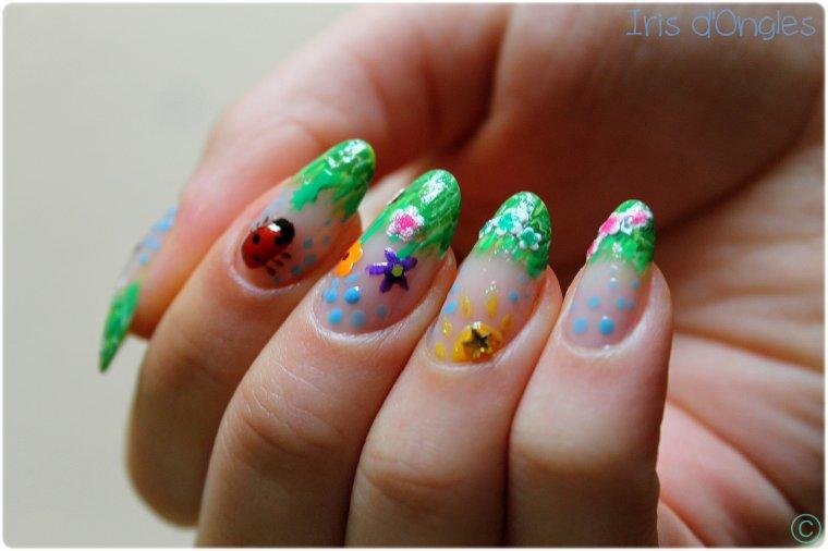 """Nail Art Concours """"La Nature au Printemps"""" ! (partie 2)"""