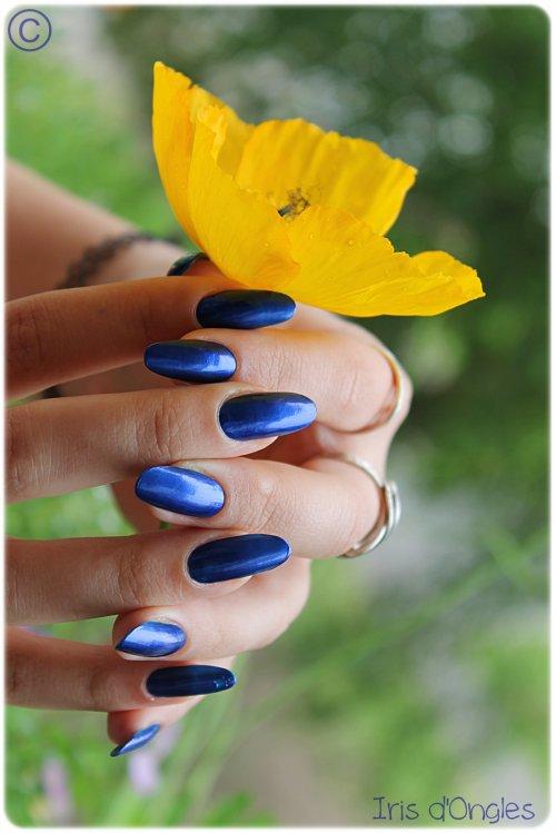 """Test: vernis N°92 de chez ESSIE, """"Aruba Blue"""" ♥"""