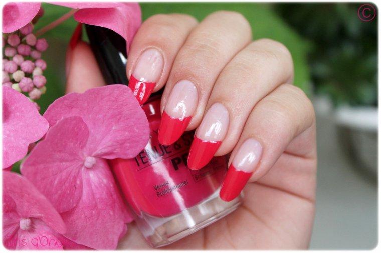 "Test: N°180 ""Rose Fuchsia"" de chez MAYBELLINE"
