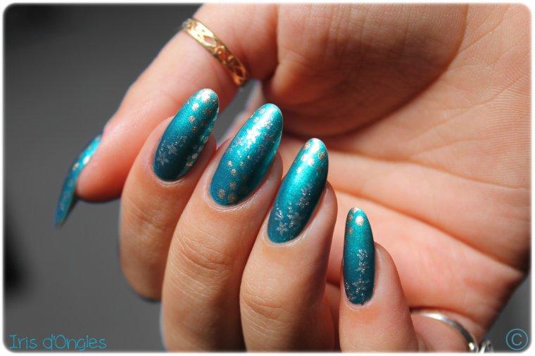 "Nail Art ""Abysses d'Orient"""