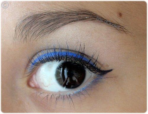 "Maquillage du jour: ""Bleu Fabuleux""!"