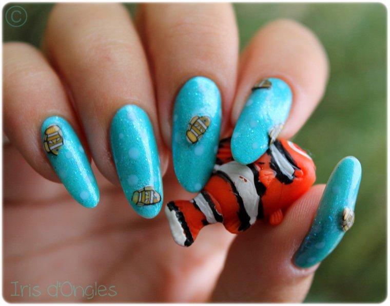 "Nail Art ""Poisson des Abysses"" !"